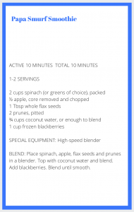 Blue Smoothie Recipe2